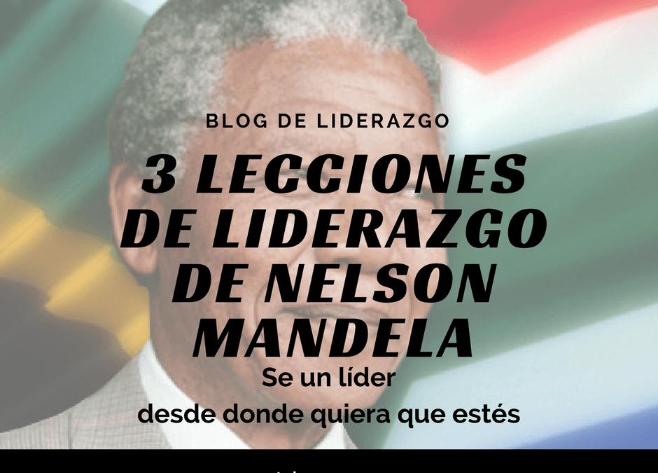3 lecciones de liderazgo de Nelson Mandela
